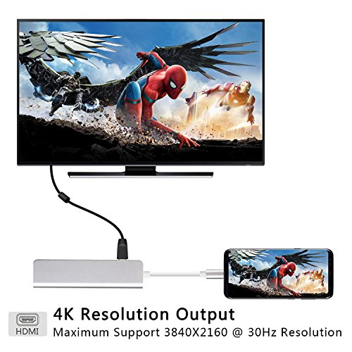 Dex Station for Samsung, USB C to HDMI 4K Adapter Desktop Experience for Galaxy Note8/S8/S8 Plus,Nintendo Switch, MacBook Pro 2016 2017 by LC-dolida (Image #3)