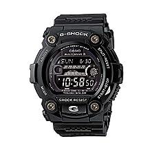 Mens Watch Casio GW7900B-1 G-Shock Black G-Shock Atomic Moon Phase Tide Graph