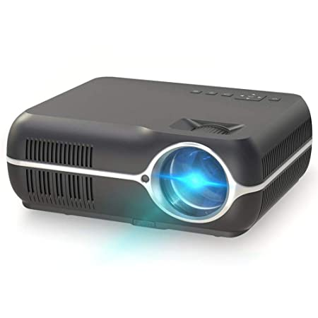 Proyector, Video Proyector HD 4000 lúmenes Proyector LED 150 ...