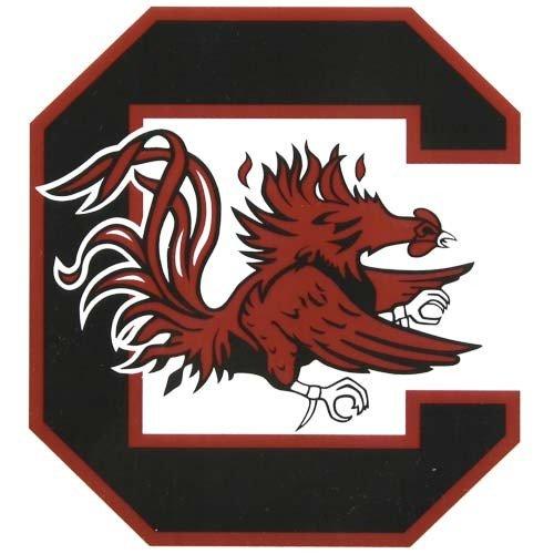 NCAA University of South Carolina Multi-Use Colored Decal, 5