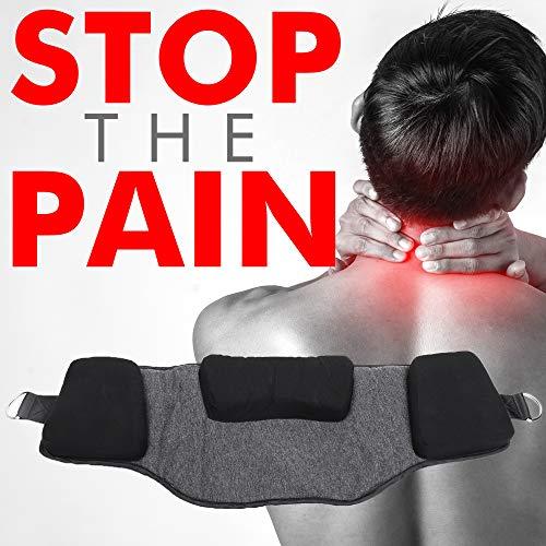ALYTM Neck Hammock Cervical Pillow Neck Traction Neck Brace Cervical Neck Traction Device Neck Stretcher Cervical Collar Neck Support Neck Pain Relief by ALYTM (Image #3)