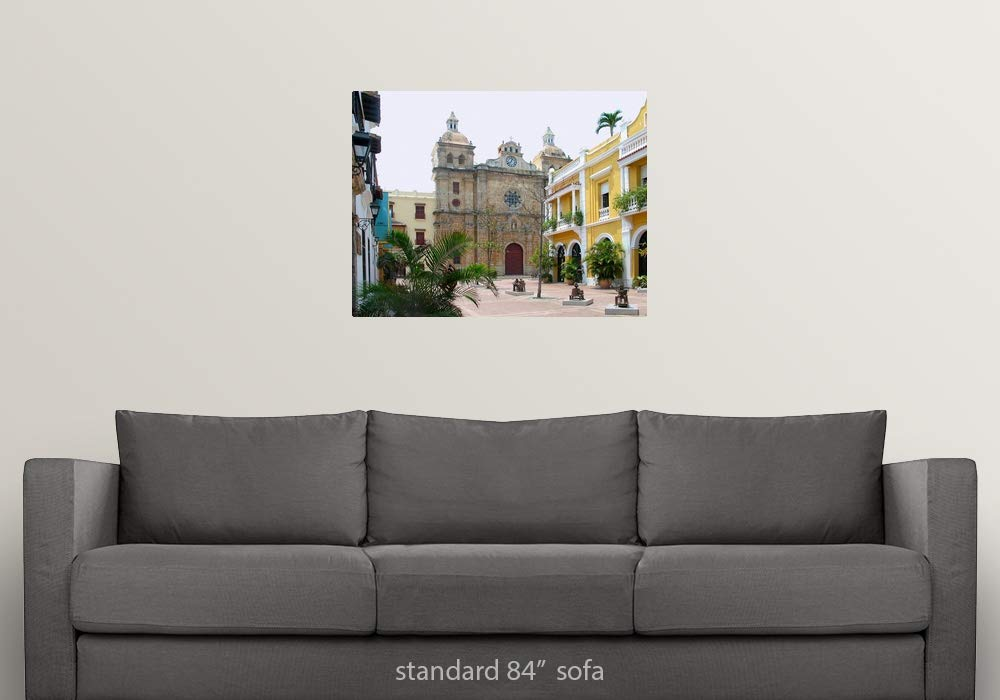 Amazon.com: GREATBIGCANVAS Poster Print Entitled Church in ...