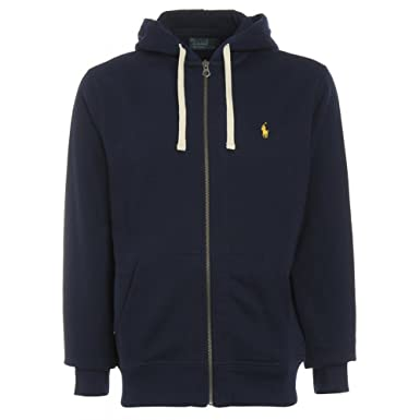 Polo Ralph Lauren Men\u0027s Classic Full Zip Hooded Sweatshirt Fleece Hoodie S