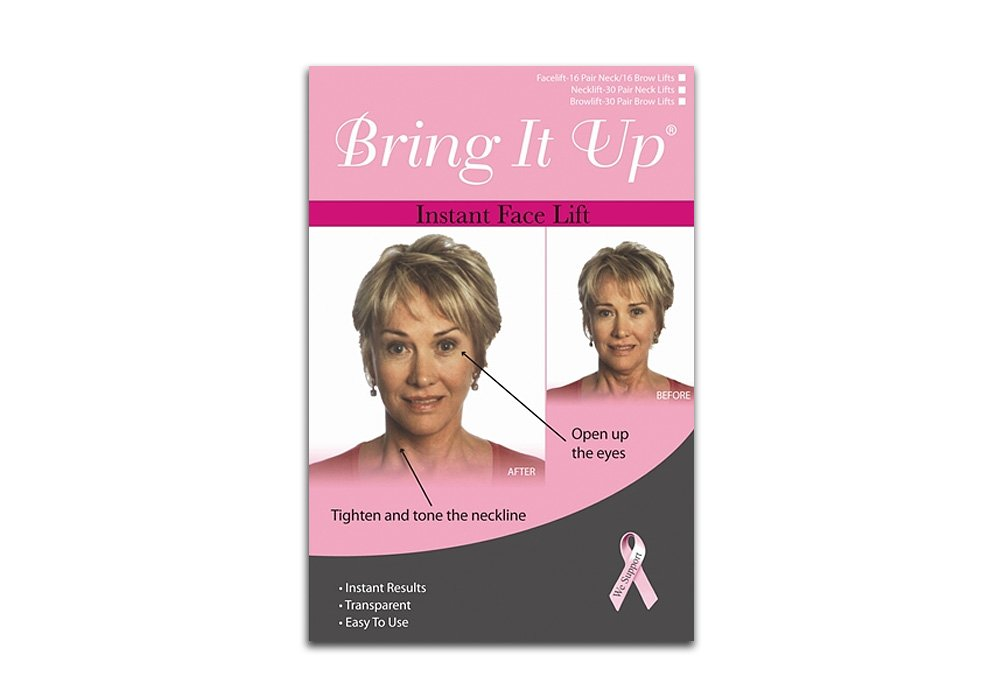 Bring It Up Instant Face Lift Kit (16 pairs of brow lifts & 16 pairs of neck lifts)