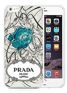 Beautiful Unique Designed iPhone 6 Plus 5.5 Inch Cover Case With Prada 47 White Phone Case