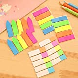 20 Pieces Colored Page Markers Sticky Index Tabs