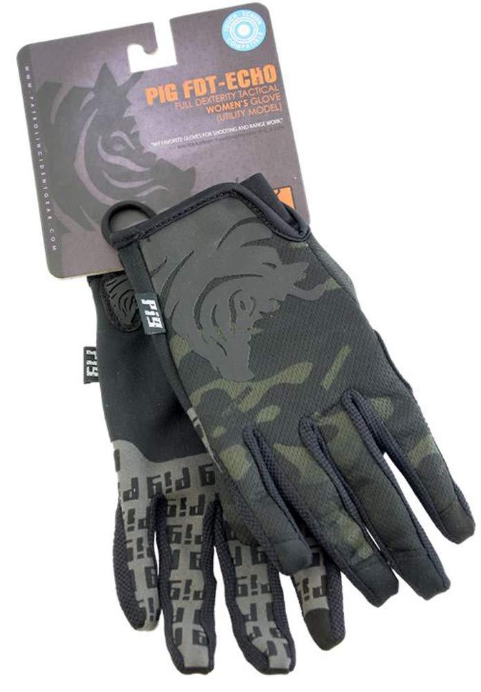 PIG Full Dexterity Tactical (FDT) Echo - Women's Utility Gloves (Multicam, X-Small)