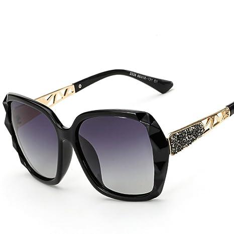 Occhiali Da Sole Da Donna Occhiali Da Sole High-End Modelli Ad Esplosione Occhiali Da Sole Con Protezione UV Polarizzatore,Gray