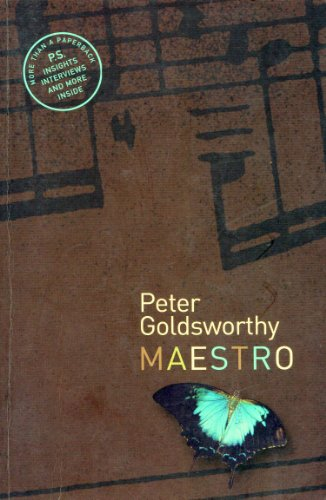 maestro by peter goldsworthy Buy maestro from dymocks online bookstore find latest reader reviews and much more at dymocks.