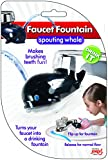 Faucet Drinking Fountain, Best Kids Water Dispenser, Makes Toothbrush Time Fun For All Ages, One Step Installation Takes Seconds, Saves Mess & Water - Whale (3 Pack) by Jokari