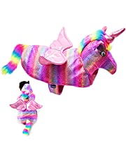 cyeollo Dog Costumes Halloween Unicorn Costume Dog Cosplay Pet Apparel Funny Clothes for Dog & Cat