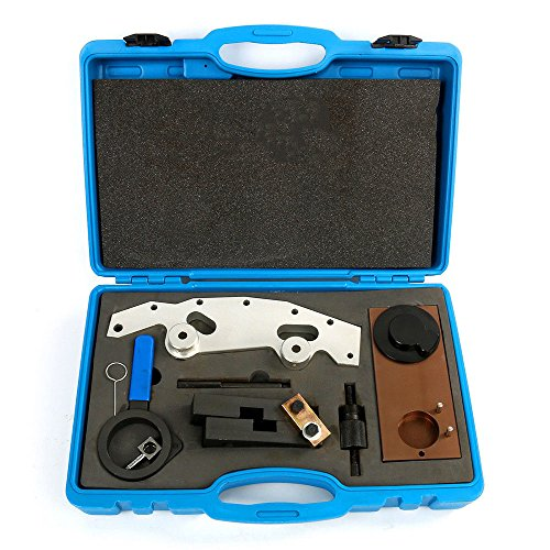 Tdogs Engine Timing Locking, Camshaft Double Vanos Alignment Timing Tool Kit for BMW M52TU/M54/M56 (Locking Camshaft Plate)