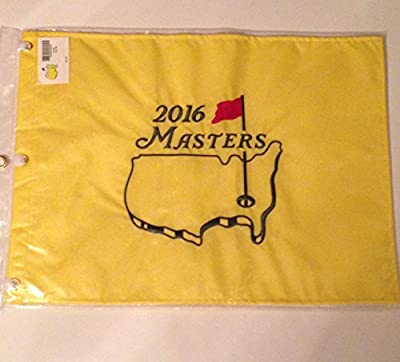 2016 MASTERS Golf Tournament Pin Flag Augusta National Pga