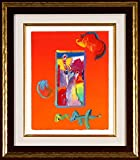 LIBERTY is a one-of-a-kind acrylic mixed media on paper by Peter MAX