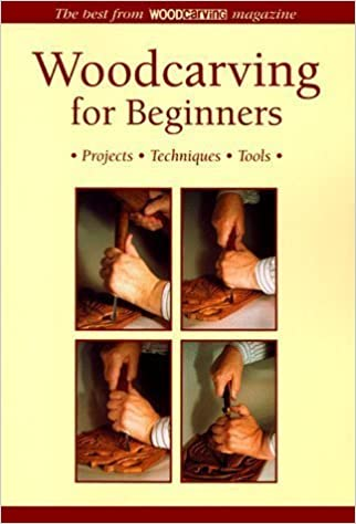 Woodcarving for Beginners: Projects, Techniques, Tools - The Best from