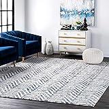 nuLOOM Rosanne Geometric Area Rug, 4' x 6', Blue