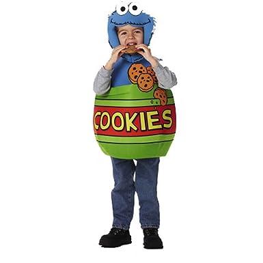 Kid s Disfraz de monstruo de las galletas de Barrio Sésamo ...