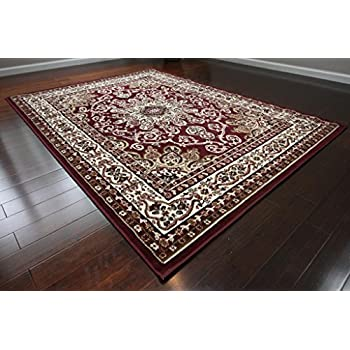10x13 area rugs cheap amazoncom generations new oriental traditional isfahan persian