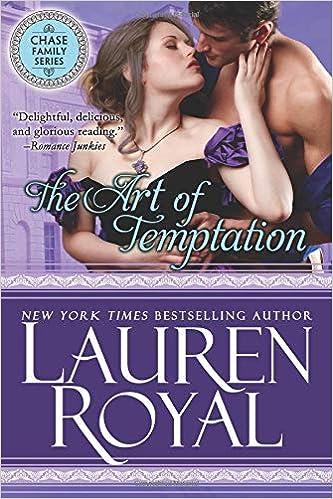 Amazon Fr The Art Of Temptation Regency Chase Family