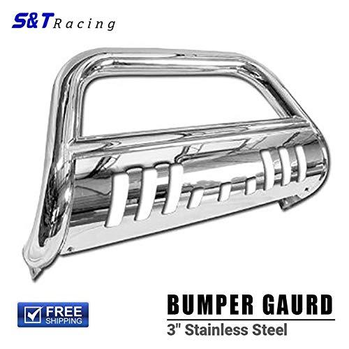 S&T Racing Chrome HD Stainless Steel Push Bar