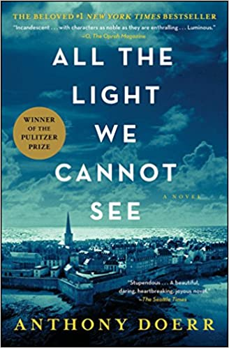 All the light we cannot see; anthony doerr; amazon audibles; ww2 novel; world war two novel; read by zach appelman