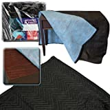 Trademark Stalwart Extra Thick Padded Moving Blanket, 72 x 80-Inch