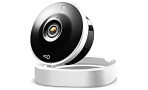 Oco 1 Wi-Fi Home Security Camera System with Cloud Storage, Two-Way Audio and Night Vision, 720p HD Video Monitoring Surveillance Camera