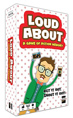 CSE Games Loud About a Game of Action Memory Party Game by CSE Games