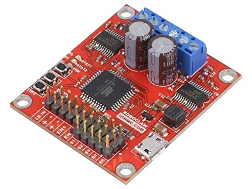POLOLU-3284 DC-motor driver 7.5A Uin mot6/÷34V Uin log6/÷34V Channels2 POLOLU