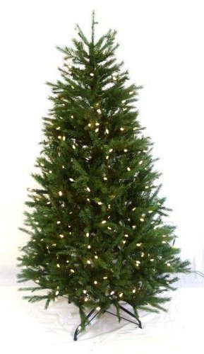 Northern Fir Pe Pvc 6ft 182cm Artificial Pre Lit Christmas Tree