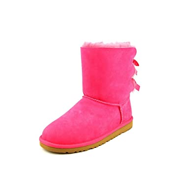 Ugg Australia Bailey Bow Youth US 6 Pink Winter Boot