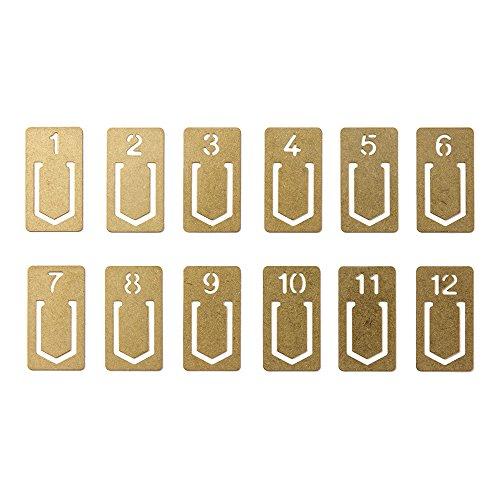 brass clips - 8