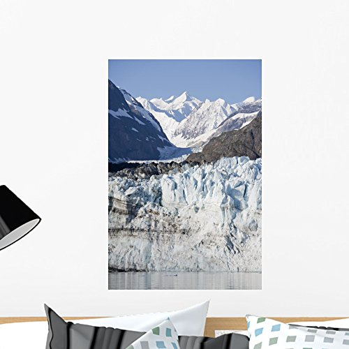 Glacier Bay National Park Wall Mural Wallmonkeys Peel and Stick Graphic (24 in H x 16 in W) WM19294