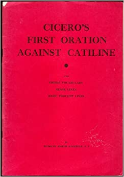 Cicero against catiline vocabulary essay
