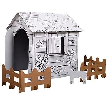 Jeux construire des maisons gagnez 100 000u20ac pour for Maison en carton a colorier