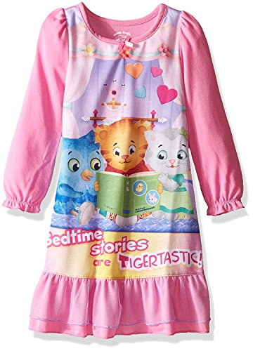 Tiger Dress For Kids (Daniel Tiger Toddler Girls' Gown, Pink, 3T)
