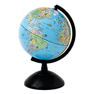 Enesco globe collection globo terr queo 20 cm color azul hogar - Globo terraqueo amazon ...