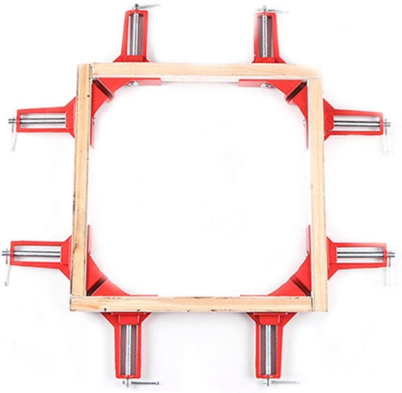 nobrand 90 Degree Frame Reinforce Metal Clamps Right Angle Clip Corner Holder Wood Working Hand Kit Tool