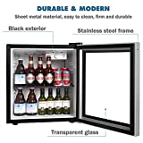 Northair Beverage Cooler and Fridge With Glass