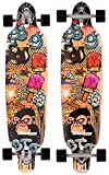 DOUBLE AWESOME GRAFFITI Longboard 2016, monkey
