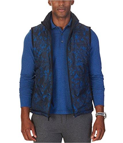 - Nautica Men's Reversible Quilted Vest, Estate Blue, L