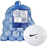 Nike 48 AAA+ Ball Bag Mix Recycled Golf Balls, White