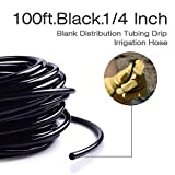 MIXC 100ft 1/4 inch Blank Distribution Tubing