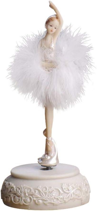 CWC La decoración del hogar decoración de la Muchacha del Ballet La Caja de música de Baile música muñeca Regalo de cumpleaños Creativo Box