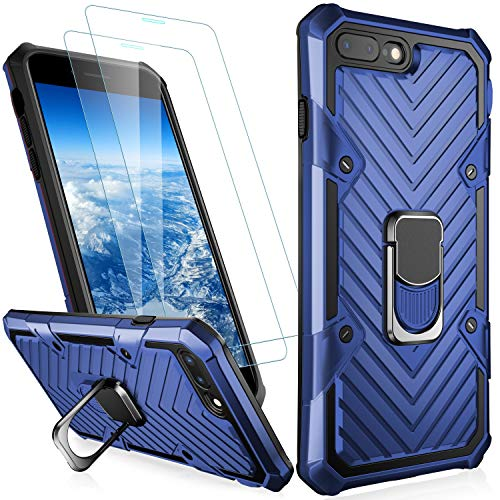 MERRO iPhone SE 2020 Case,iPhone 8 Case,iPhone 7 Case with Screen Protector[2 Pack],Pass 16ft. Drop Tested Military…