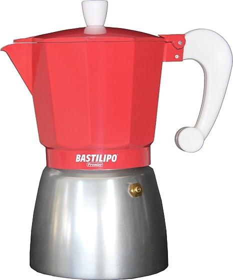 Bastilipo Colori-6 Cafetera, Aluminio, Coral: Amazon.es: Hogar