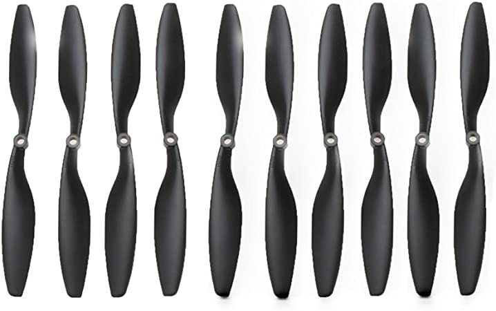 5pairs 1045 10x4.5 CW//CCW Propeller for RC Multi Quadcopter DJI F450 Red