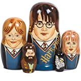 Books.And.More Harry Potter Nesting Dolls Set 5pcs Matryoshka Dolls