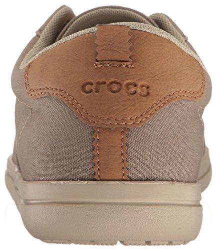 Khaki Cobblestone Lace Men crocs Torino up Shoe fnaHq4qw