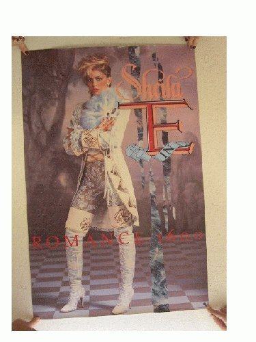 Sheila E Poster Romance 1600 Sixteen Hundred